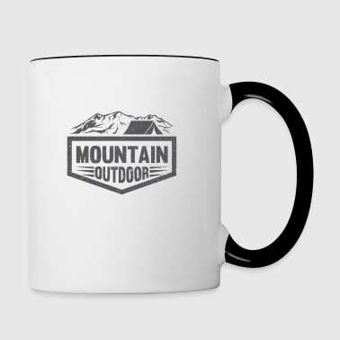 Mountain Outdoor - Mug contrasté