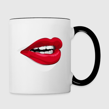 Not a word ! - Contrasting Mug