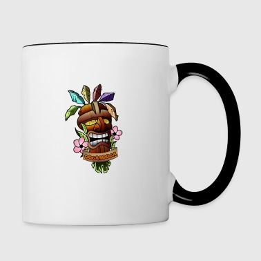 Crash Bandicoot Remastered Ooga bla - Taza en dos colores