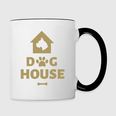 Dog House - Tazze bicolor