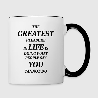 GREATEST - Tasse bicolore