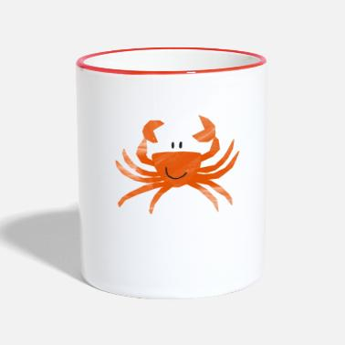Crab Karl, the little crab - crab me - Two-Tone Mug