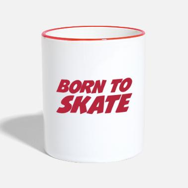 Skate Born to Skate - Mok tweekleurig