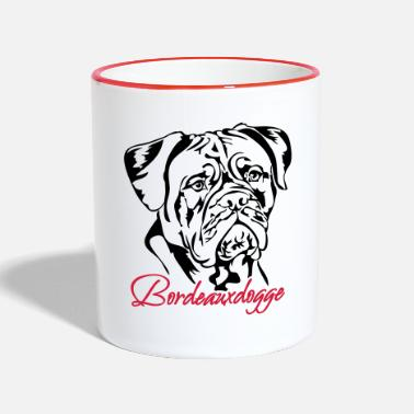 Bordeaux Dogue de Bordeaux - Mug contrasté
