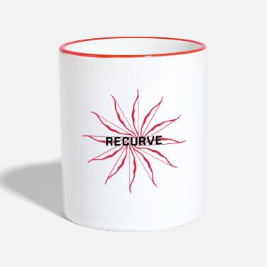 Recurve Recurve Circle - Two-Tone Mug