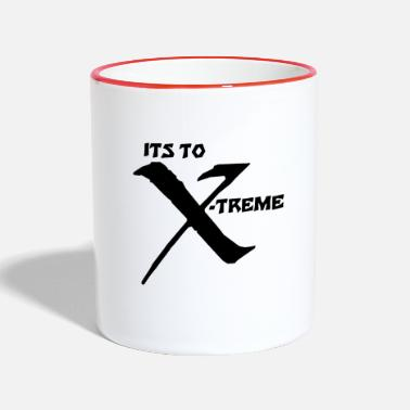 Xb Its to Xtreme Xb - Tasse zweifarbig