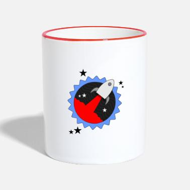 Rocket Star - Two-Tone Mug