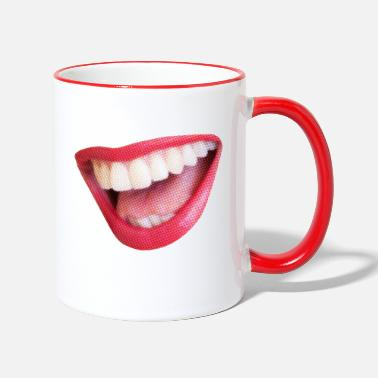 Big Smile Big smile - Two-Tone Mug