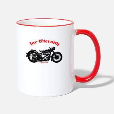Old Bike - Two-Tone Mug