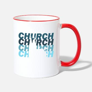 Christian Church Christianity Christian - Two-Tone Mug