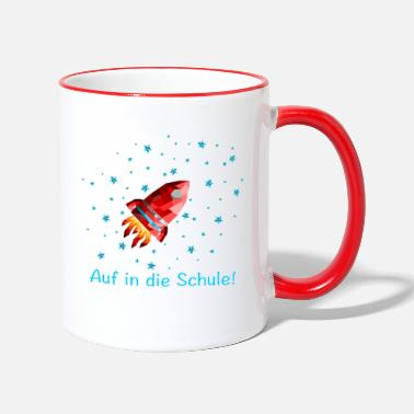 School enrollment sugar bag Astronaut - Two-Tone Mug