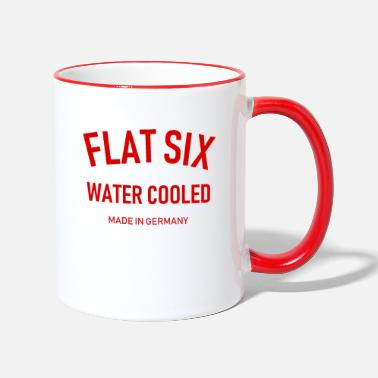 996 Flat Six - Water Cooled - Made in Germany - Boxer - Two-Tone Mug