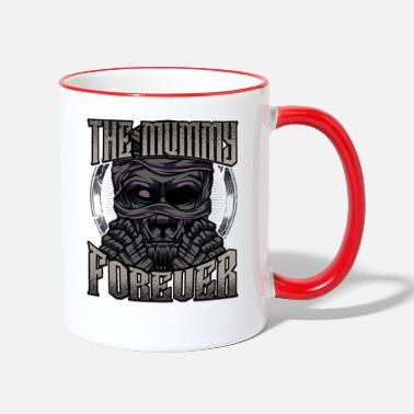 Mummie mummy - Two-Tone Mug