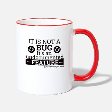 Linux Not a Bug | Programmer, programmer - Two-Tone Mug