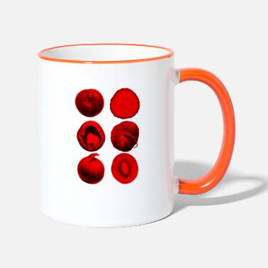 vegetables and fruit - Two-Tone Mug