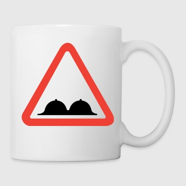 Attention breasts - Mug
