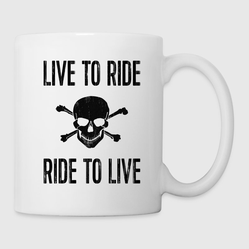 Live to ride, ride to live - Tasse
