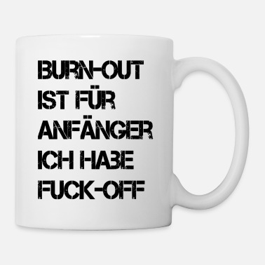 burnout_black - Tasse