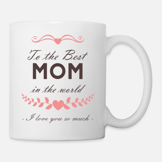 Funny Mugs & Drinkware - Mothers day gift funny quote - muttertag - Mug white
