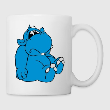 Trauriges Hippo - Tasse
