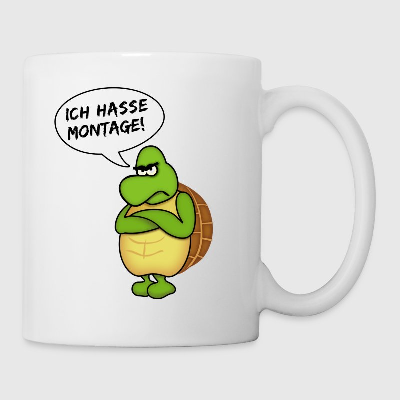 ich hasse montage - Taza