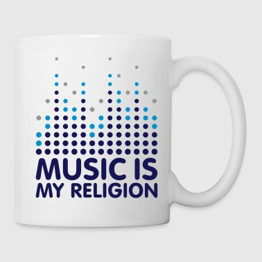 Music Equalizer Religion - Tasse