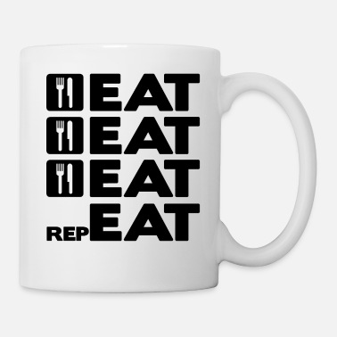 Eats EAT EAT EAT REPEAT - Mug