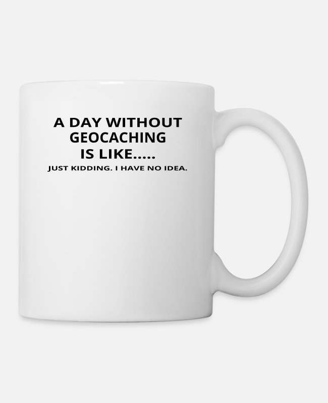 Christmas Mugs & Drinkware - day without gift gift like love Record 115 - Mug white