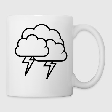rainbow sun clouds weather rainbow sun cloud52 - Mug