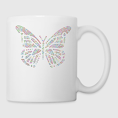 Beautiful Butterfly colorful beautiful - Mug