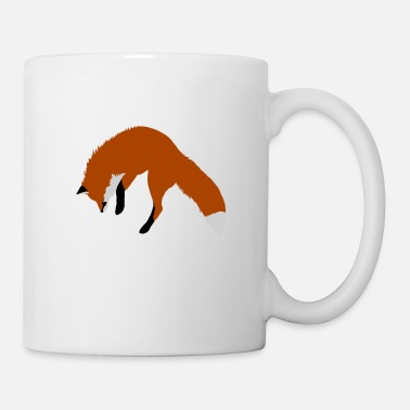 Pounce Red Fox Pouncing - Mug