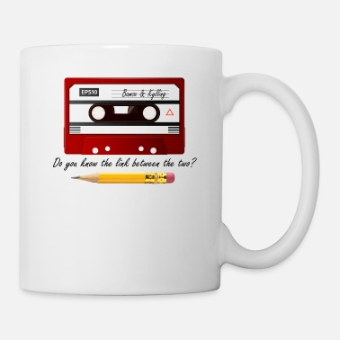 Cassette Cassette tape en potlood - Mok