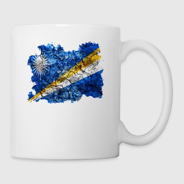 Marshall Marshall Islands vintage flag - Mug