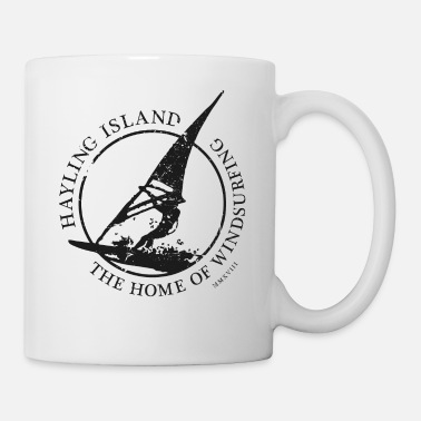 windsurfer black - Mug