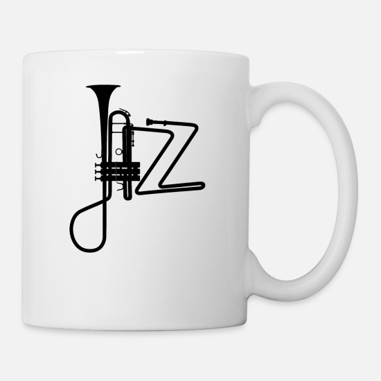 Dance Mugs & Drinkware - jazz - Mug white