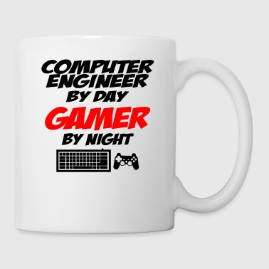 Gamer computer engineer gamer - Mug