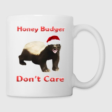 Santa Honey Badger - Mug