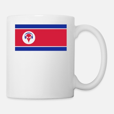 North Korea Alien North Korea - Mug