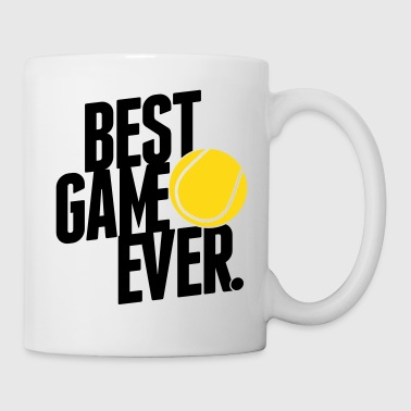 tennis - best game ever - Tasse