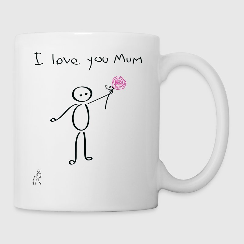 Stickman - I love you mum - Mother's Day - Mug