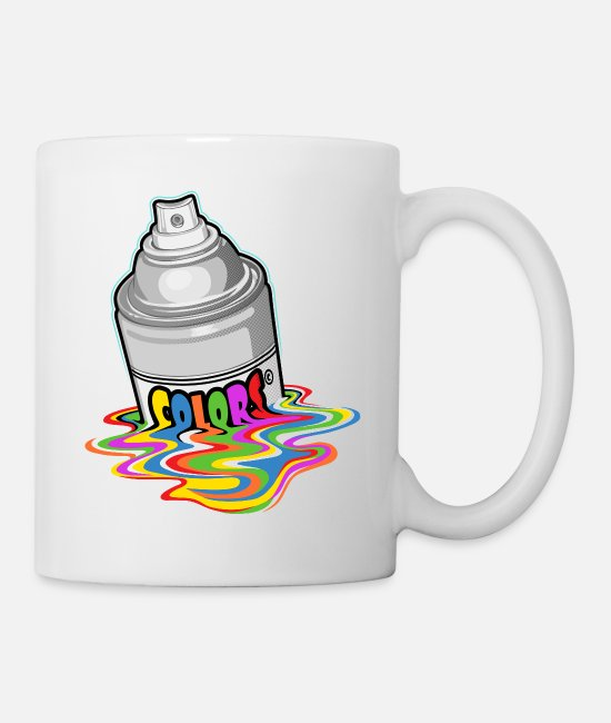 Urban Mugs & Drinkware - Melting spray - Mug white
