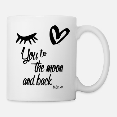 Eye Love You To The Moon And Back - Tasse