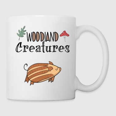 Boar boar baby forest dwellers native nature - Mug