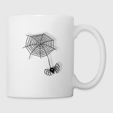 Spider on the net - Mug