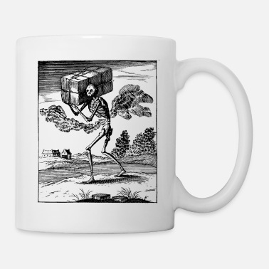 Metal Death Gothic Skeleton Metal - Mug