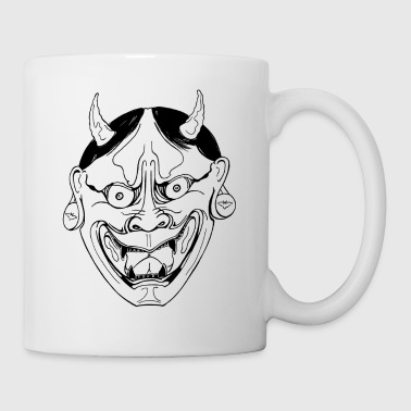 hanya demon big - Mug blanc