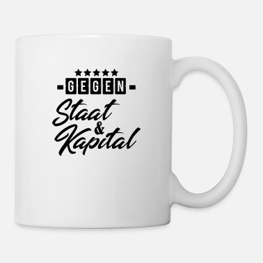 State Capital Against state and capital! - Mug