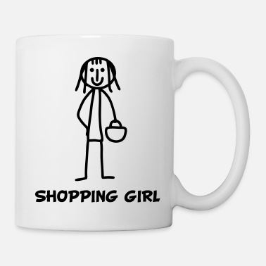 Brat Shopping Girl - Mug