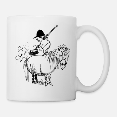 Thelwell 'Spring-cleaning' - Mug