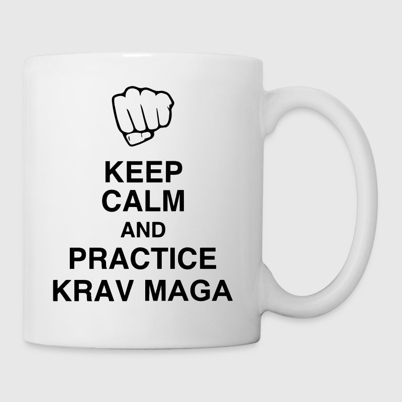 Krav Maga / Krav-Maga / Fight / Martial Art - Mug blanc